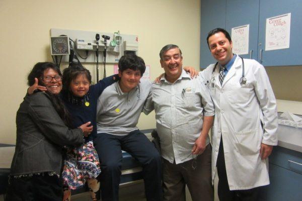 Dr Javdan and Carias Family 2