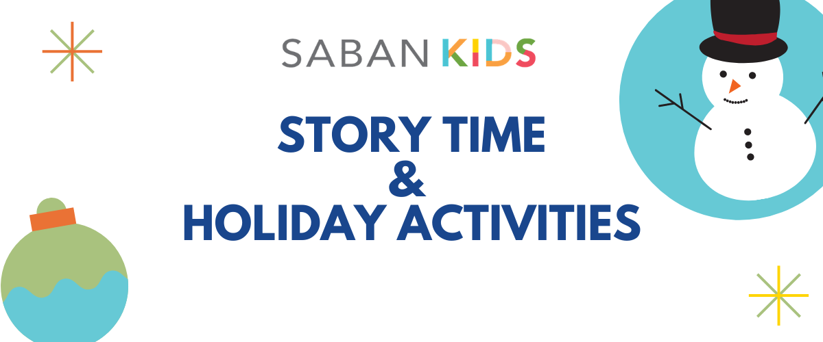 Story Time and Holiday Activities